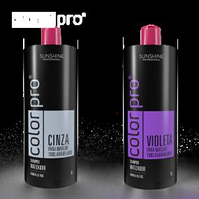 Shampoo Matizador Cinza e Violeta